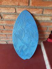 Vintage original Wooden Boogie Board Body Board Rare! Nice Shape
