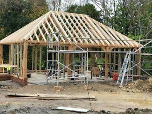 WE ARE OPEN!!!!!!!!  Beams larch - Oak - Douglas fir