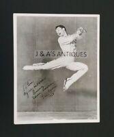 1954 Ice Capades Member JIMMY LAWRENCE Skating Media Autographed Photo