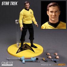 ONE:12 colectivo de Star Trek James T Kirk escala 1:12 Figura de Acción MEZCO