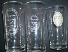 3 Different  beer glasses  -  James Squire