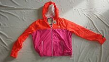 ABERCROMBIE & FITCH WOMEN NICOLE JACKET COLOR PINK&ORANGE  AND SIZE M
