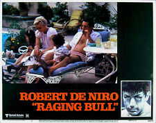 RAGING BULL 1980 Robert De Niro, Cathy Moriarty LOBBY CARD #2