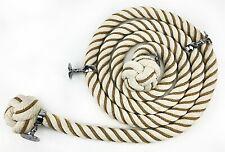 Coton Naturel Bannister Corde Vermifugés 32mm x 10 Foot C / *4 Chrome
