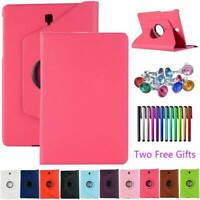 New 360° Rotating Stand Leather Case Cover For Samsung Galaxy Tab S S2 S3 S4 E