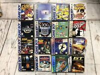 Lot of 16 Nintendo Gameboy Boxes ONLY, NO GAMES. Authentic Original Box's