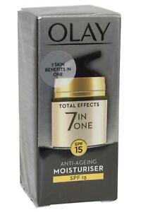 Olay Total Effects 7 in One Anti Ageing Moisturiser 15ml SPF15