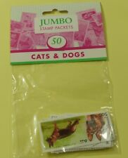 Thematic stamp packet: 50 Cats & Dogs on stamps