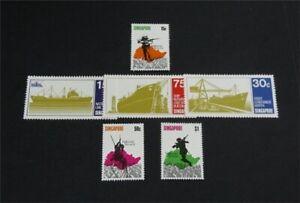 nystamps British Singapore Stamp # 119//128 Mint OG H $33   L30x3030