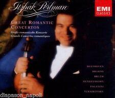 Itzhak Perlman: Great Romantic Concertos / Beethoven, Brahms, Bruch...CD Emi