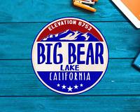 "Skiing Big Bear California Sticker Decal Ski Skier Lake Vinyl 3"" Boating"