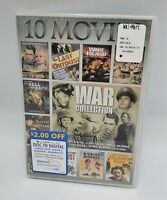 War 10-Movie Collection DVD  NEW (Sealed)