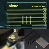 Record Player LP Vinyl Measuring Phono Tonearm VTA/Cartridge Azimuth Ruler w bag
