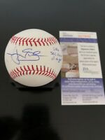 Logan Shore Autographed Romlb SS Rookie Ball W/Coa Detroit Tigers