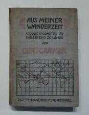 Buch, Curt Craemer, Aus meiner Wanderzeit, Reiseeindrücke Asien Afrika etc. 1907