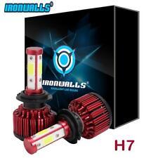 Ironwalls X6 H7 1800W 270000LM Power 4 Sides LED Headlight Kit 6500K Turbo Bulbs