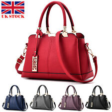 Women Handbag Leather Briefcase Shoulder Bag Tote Purse Ladies Messenger Satchel