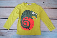 H&M Boys Large Animal Print Lime Green Long Sleeved Top Age 2-3 Years