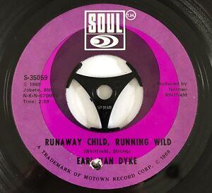 Earl Van Dyke Runaway Child , Running Wild Original Soul 1969 Great Copy !!