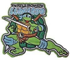 """Teenage Mutant Ninja Turtles Leonardo Character 3"""" Tall Embroidered Patch"""