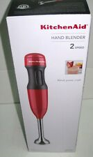 KitchenAid - KHB1231ER 2-Speed Hand Blender - Empire Red brand new Free Ship