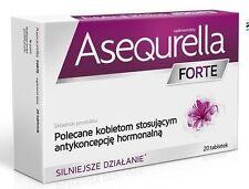 ASEQURELLA FORTE 20 pills contraception