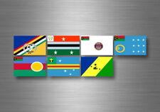 Adesivi adesivo sticker bandiera collezione stati regione provincia vanuatu