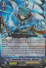 1x Cardfight!! Vanguard Regulation Liberator, Aglovale - BT16/016EN - RR Near Mi