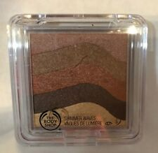THE BODY SHOP SHIMMER WAVES PALETTE IN BRONZE 01. NEW.