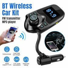 Wireless Car Bluetooth FM Transmitter Radio Adapter MP3 Player USB Charger
