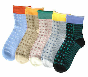 ladies loose top cotton socks women's soft top ankle socks maternity socks