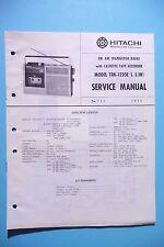 INSTRUCCIONES MANUAL DE SERVICIO PARA Hitachi trk-1220, original