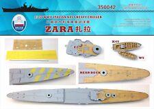 Shipyard 350042 1/350 Wood Deck Italian Heavy Cruiser Zara for Trumpeter