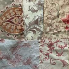 BEAUTIFUL BATCH 6 SMALL PIECES ANTIQUE VINTAGE FRENCH LINEN/COTTON PROJECTS 279