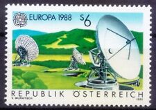 Telecommunication Center, Europa CEPT, Austria 1988 MNH (Q8n)