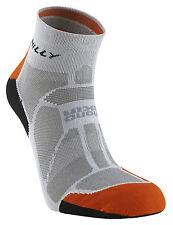 Hilly Marathon Fresh Socklet Running Sock Grey/orange/black M