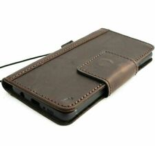 GENUINE LEATHER CASE FOR SAMSUNG GALAXY S10E BOOK WALLET COVER CARDS CLOSURE