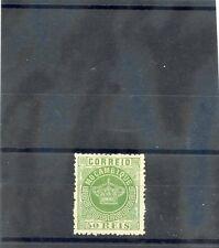 MOZAMBIQUE Sc 10(SG 6)(*)F-VF NGAI 1878 50R GREEN, PERF 121/2, $650