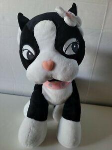"""Build a Bear Rebecca Bonbon Black White French Bulldog 14"""" Plush HKitty Friend"""