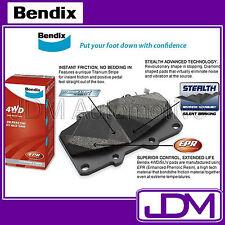 BENDIX 4WD Rear Brake Pads NISSAN PATROL GU