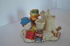 1994 Danbury Mint Garfield Crowning Achievement Figurine Jim Davis Sand Castle