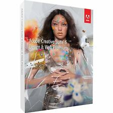 Adobe Photoshop cs6 Extended InDesign + + Illustrator + Mac Ie English plenamente Box