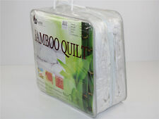 Super king350GSM All Season 100% Bamboo Quilt Doona Cotton Cover Machinewashable