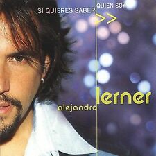 Si Quieres Saber Quien Soy by Alejandro Lerner (CD, Sep-2001, Universal Music...
