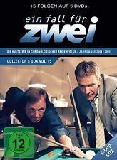 EIN FALL FÜR ZWEI - COLLECTOR'S BOX 15 (FOLGEN 210-224) 5 DVD NEU