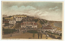 Bournemouth From The West Cliff #2 People UK Vintage Postcard