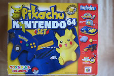 *** BRAND NEW FACTORY SEALED *** Nintendo 64 Pokemon Pikachu Edition N64 Console