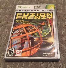 Fuzion Frenzy Platinum Hits (Microsoft Xbox, 2004) COMPLETE