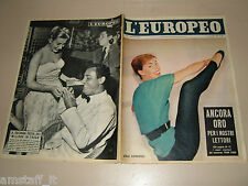 EUROPEO=1956/38=LILLI CERASOLI=ALBERTO SORDI=ARTHUR RUBINSTEIN=FABBRI NAVICELLO=