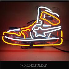 Sneakers Nike Air Jordan Sport Shoe Display Handmade Real Glass Neon Sign Light